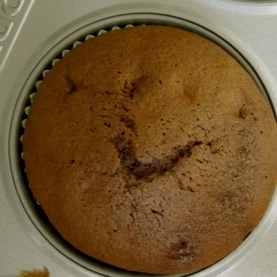 Chocolate Cupcake Smiley