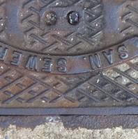 Manhole Cover Smiley