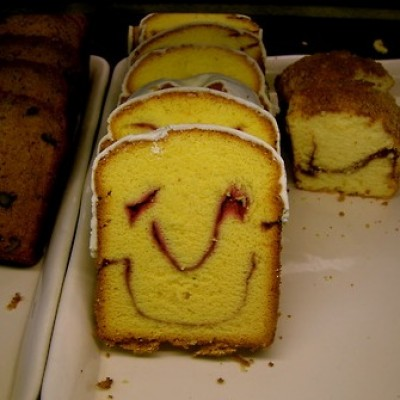 Coffee Cake Smiley