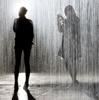 The Rain Room Exhibit