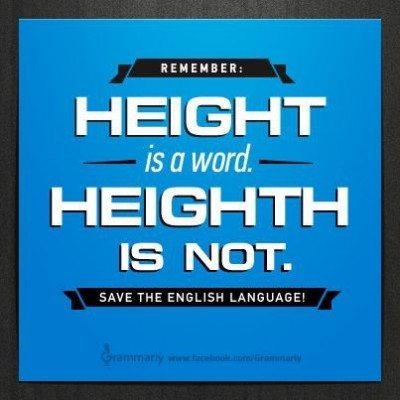 Save the English language!