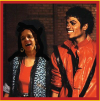 Photoshopped myself to be Michael Jackson's date for THRILLER