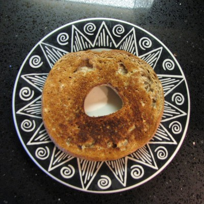 """Oh noooo, not the toaster !"" Bagel Smiley"