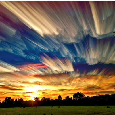 Sky Photos that Look Like Smeared Paintings.