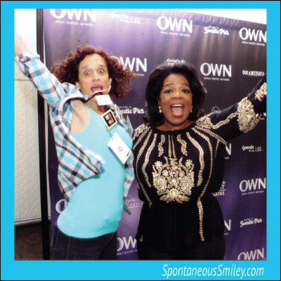 Airborne with Oprah!