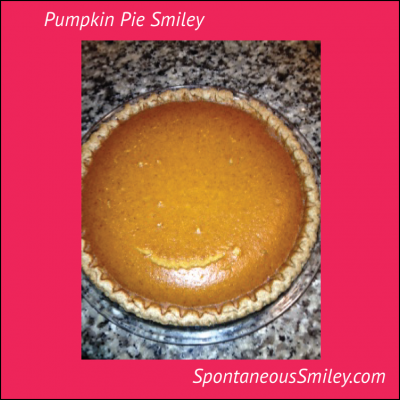 Pumpkin Pie Smiley