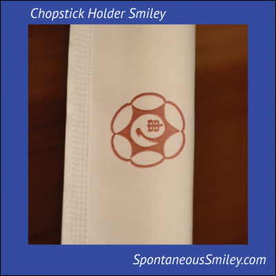 Chopstick Holder Smiley