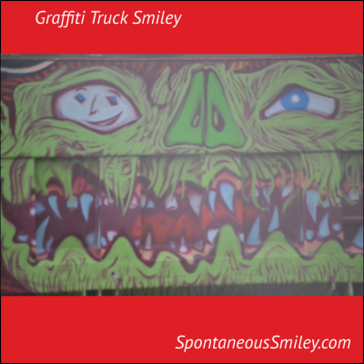 Graffiti Truck Smiley