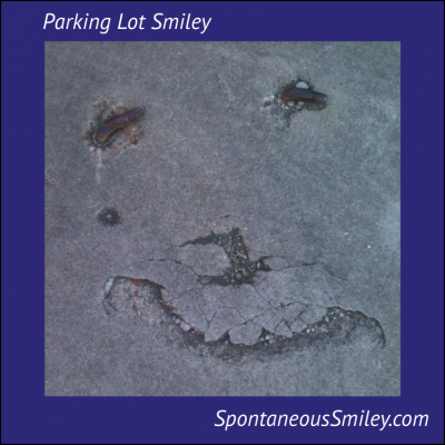 Parking Lot Smiley