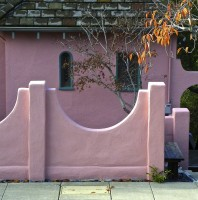 Pink House Smiley