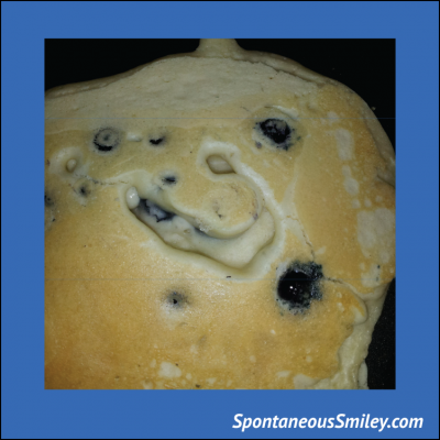 Blueberry Pancake Smiley