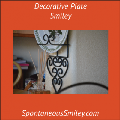 Decorative Plate Smiley