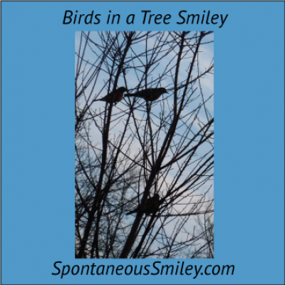 Birds in a Tree Smiley