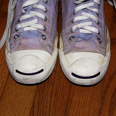 Purple Shoes Smiley (the twins)