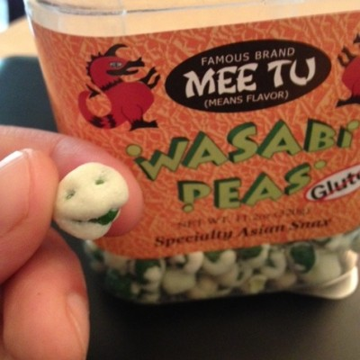 Wasabi Pea Smiley