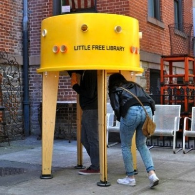 NY Pop-Up Library Smiley
