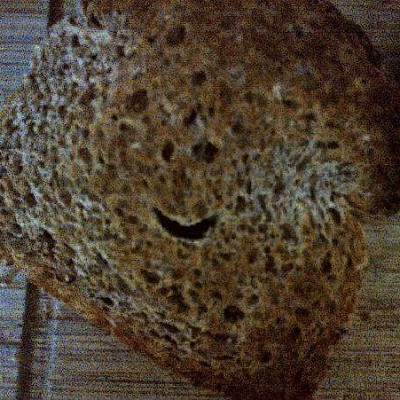 Good Morning Toast Smiley