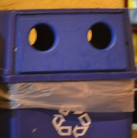 Recycling Bin Smiley