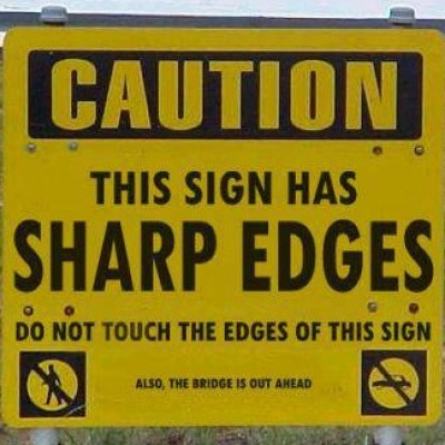 Goofy Sign