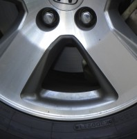 Hub Cap Smiley