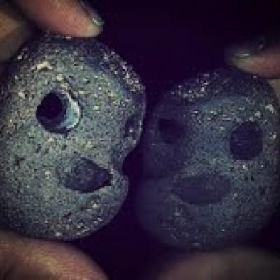 Twin Rock Smiley