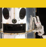 Hubble Telescope Smiley