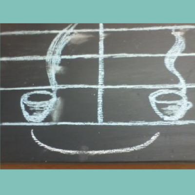 Chalkboard Smiley