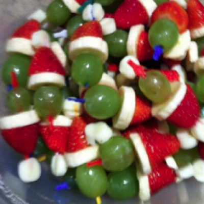 Another Christmas Grape Idea.