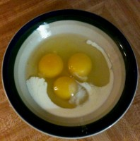 Pre-Omelet Smiley