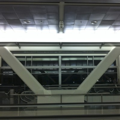SFO International Terminal Smiley