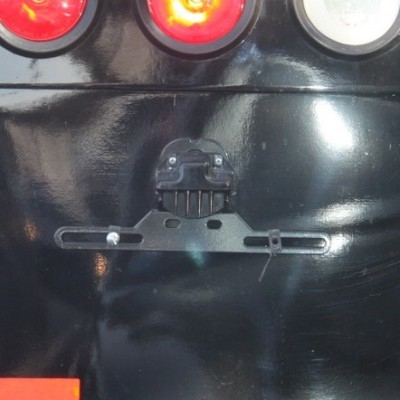 Darth Vader Car Bumper Smiley