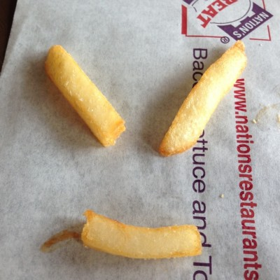 French Fries Smiley