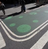 NYC Crosswalk Smiley
