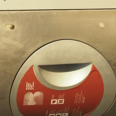 Recycling Bin Smiley
