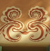 Gaudi Window Decoration Smiley