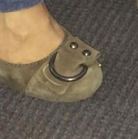 Shoe Buckle Smiley