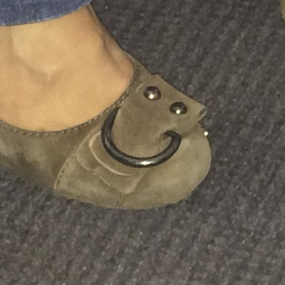 Shoe Buckle Smiley