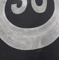 Speedlimit on the Road Smiley (30kph)