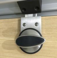 Restroom Stall Lock Smiley