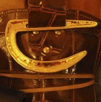Belt Buckle Smiley