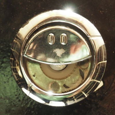 Toilet Flusher Button Smiley, London/UK