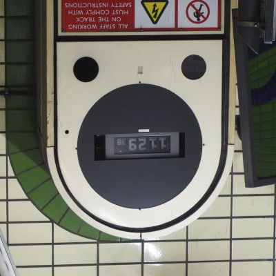 London Tube Smiley