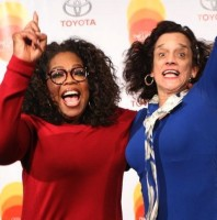 "I walked in and Oprah said, ""Yay, it's Spontaneous Smiley!"""