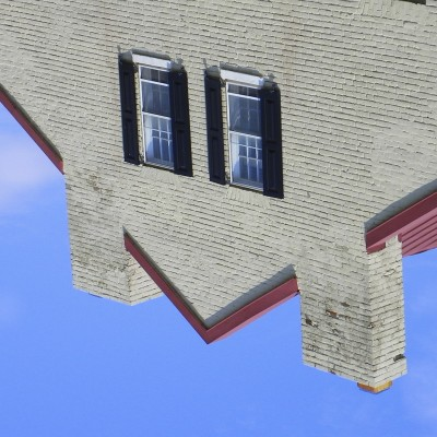 2 Windows and a Gable #Smiley #SmileyFace