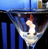 The silly that comes with a martini wears off . . . The pep that comes from a cup of coffee fades . . .