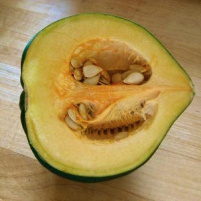 Acorn Squash Smiley