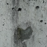 Cement Wall Smiley