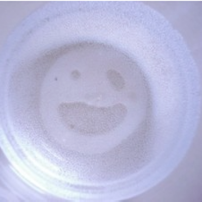 Bottom of Glass Smiley