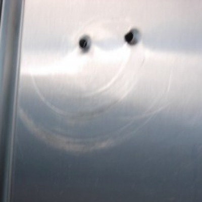 Restroom Door Smiley