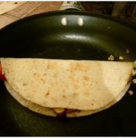Quesadilla Smiley
